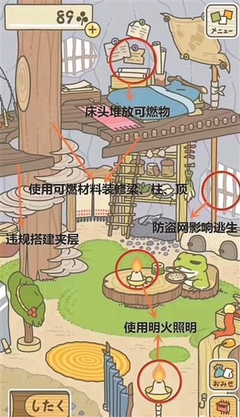 旅行青蛙家里安全隐患有哪些 ? 这些非常的危险!