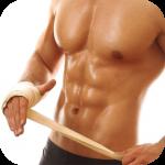 胸腹撕裂健身动画教程