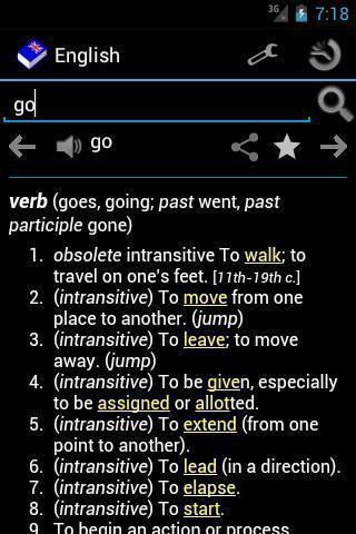 离线英语词典软件截图1