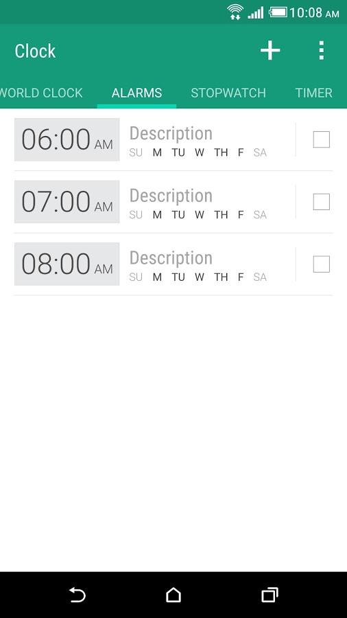 HTC 时钟