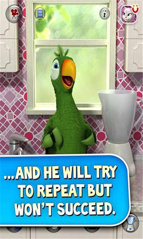 会说话的鹦鹉皮埃尔